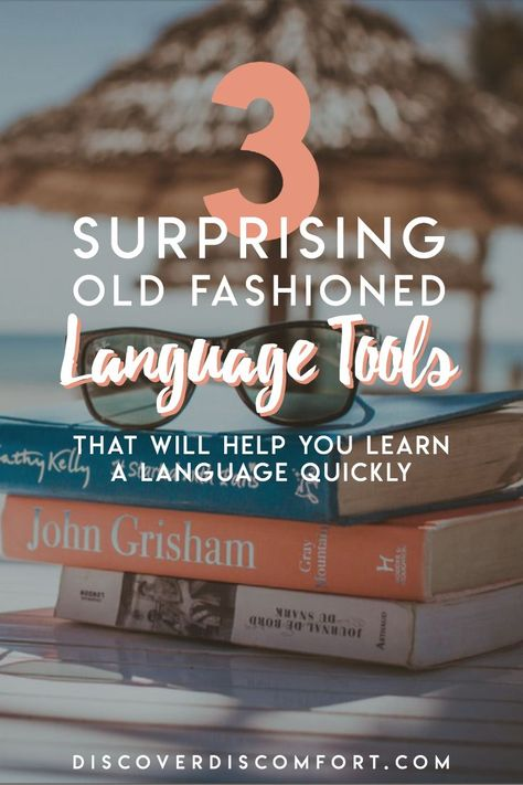 Learn Languages Faster with Books, not Apps | Discover Discomfort