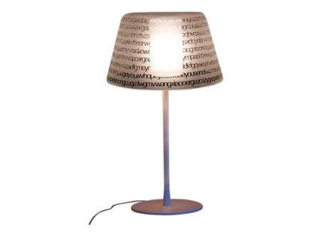 Lampe A Poser En Verre Transparent Blanc Ou Noir Abc Par Prandina Luminaire Design Lampes De Table Verre