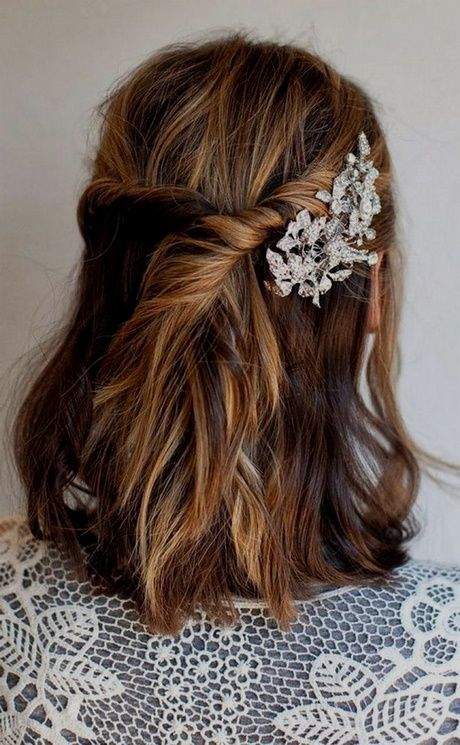 Coiffure mariage invitee cheveux long