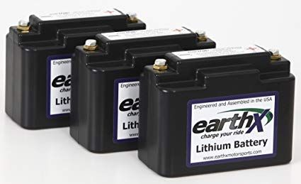 Earthx Etx18b Power Sports Lithium Battery With Cell Charge Balancing Over Charge And Over Discharge Protection Replaces Yuasa Lithium Battery Battery Yuasa
