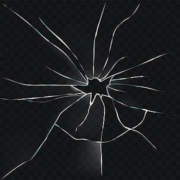 Vector Illustration Of A Broken Cracked Cracked Glass With A H Glass Png And Vector With Transparent Background For Free Download Vector Illustration Mirror Illustration Mirror Drawings