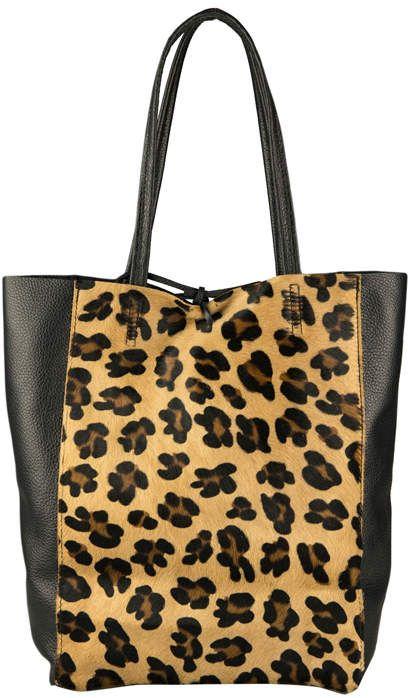 Leather Ping Tote Bag Handbag
