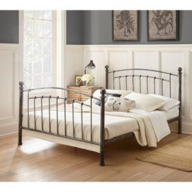 Athena Decorative Metal Bed Assorted Sizes Sam S Club Metal
