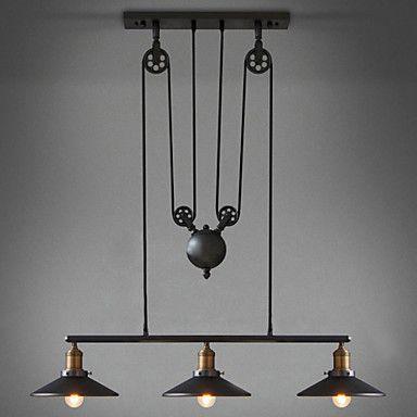 Umei 3 Lumieres Plafonnier Pour Ilot De Cuisine Lampe