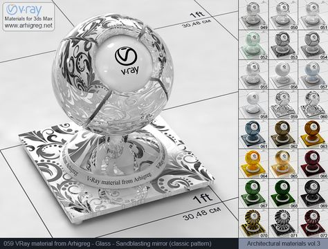 Vray Glass Vray Materials For 3ds Max Vray