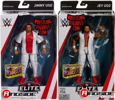 WWE Mattel Elite 54 Tag Team Usos Jimmy /& Jay Uso Complete