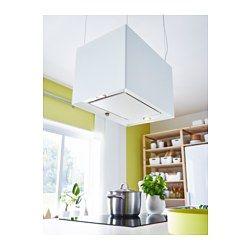 IKEA - LÄCKERBIT, Hotte aspirante, Garantie 5 ans gratuite. Détails des conditions disponibles en magasin ou sur internet.Design épuré avec panneau de commandes dissimulé.Peut être installée au mur ou suspendue au plafond au-dessus d'un îlot de cuisine.Vous pouvez facilement retirer et nettoyer le filtre à graisse au lave-vaisselle. 1 filtre à graisse inclus.L'ampoule halogène fournit un bon éclairage au-dessus de la zone de cuisson. 2 ampoules halogènes comprises.