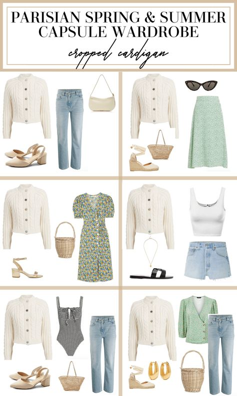 How to Create a French Capsule Wardrobe for Spring & Summer - MY CHIC OBSESSION