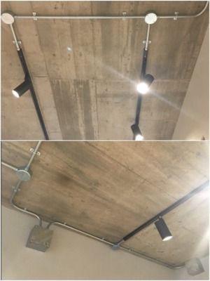 フックが便利 ダクトレール ライティングレール と天井インテリア