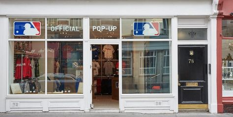 MLB Open for Business in London: The MLB  Store, located in London's Covent Garden district, officially opened to the public on Monday, Sept. 12. The shop sells clothing and memorabilia from all 30 teams. It will keep its doors open until the end of 2016. London baseball fans will find authentic caps, jerseys, t-shirts, baseball equipment and other merchandise at the pop-up store, MLB says.