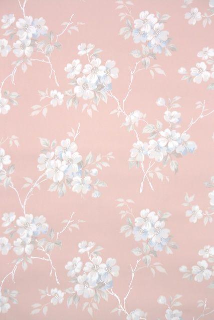 1930s Floral Vintage Wallpaper Floral Wallpaper Wallpapers Vintage Floral Wallpaper Iphone