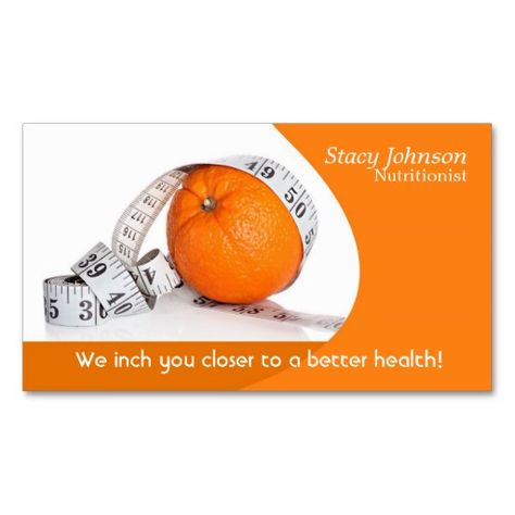 Dietitian or nutritionist profile card Business cards, Card - dietitian consultant sample resume