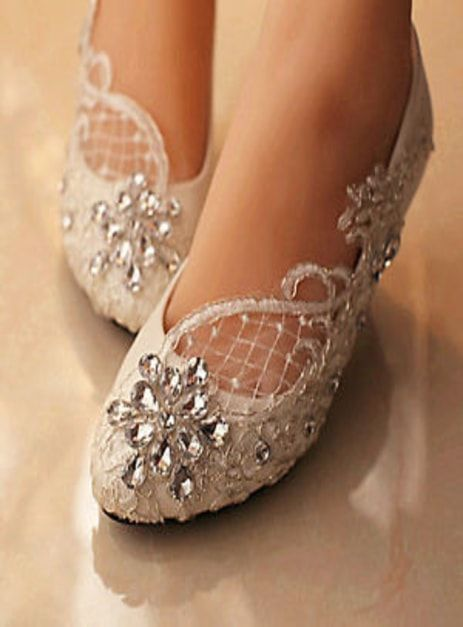Toy Style Fancy Flat Shoes Convey Deal Crystal Wedding Shoes Wedding Shoes Lace Wedding Shoes