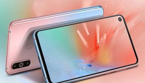 Samsung Galaxy A8s: eccolo nella nuova colorazione Unicorn Pink