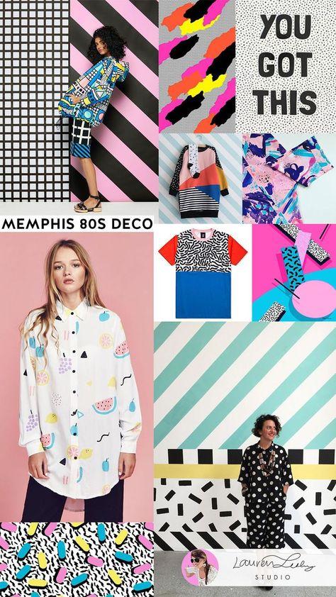 Memphis Design Trend Report SS19 | Memphis Art Style SS20 | Memphis Fashion | Me ... - #Art #design #Fashion #MEMPHIS #report #SS19 #SS20 #style #trend