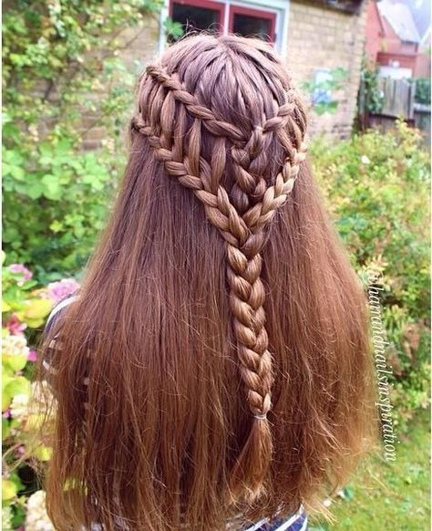 Summer Hairstyles : Ladder Braid Combo 101 Braid Ideas That Will Save Your Bad Hair Day (Photos) Summer Hairstyles, Pretty Hairstyles, Braided Hairstyles, Wedding Hairstyles, Teenage Hairstyles, Updo Hairstyle, Beautiful Braids, Bad Hair Day, Hair Dos