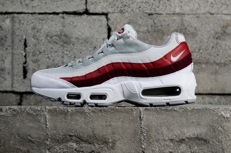 save off 50c0d 371fa Nike Air Max 95 Og White Team Red 749766103 Cheapest Sneaker