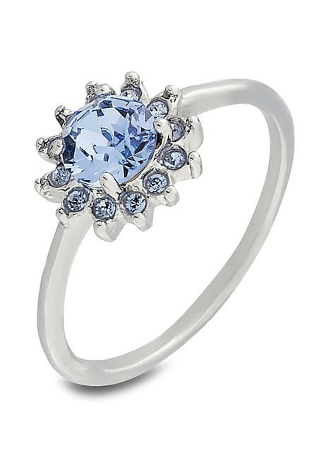 caf9eb5ef8d3 Cluster Ring with Swarovski® Crystal in 2019 | Anillos varios ...