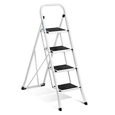 Details About Acstep Step Stool Folding 4 Step Ladder With Convenient Handgrip Sturdy Folding In 2020 Step Ladders 4 Step Ladder Ladder