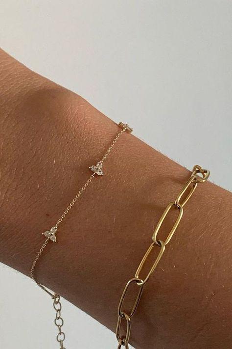 Dainty Jewelry, Cute Jewelry, Jewelry Box, Jewelry Accessories, Dainty Bracelets, Star Jewelry, Wedding Accessories, Women Jewelry, Accesorios Casual