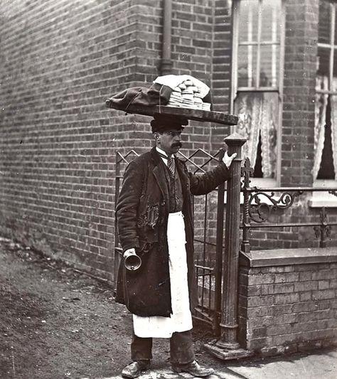 Muffin man, 1910, London