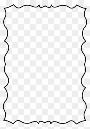 Squiggle Page Border Page Border Transparent Background Clip Art Borders Page Borders Design Transparent Background