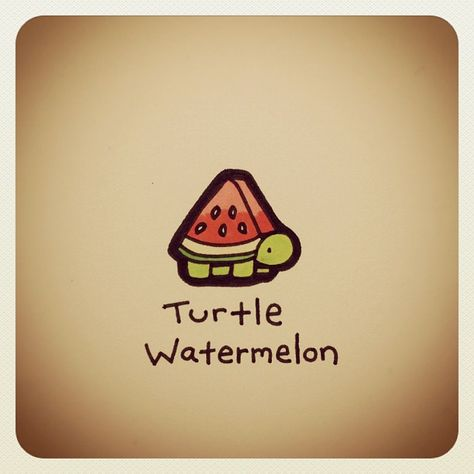 Turtle Watermelon #turtleadayjuly | Use Instagram online! Websta is the Best Instagram Web Viewer!