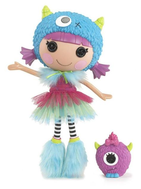 Furry Grrs-a-Lot Full Size Doll (#69) Sewn on July 27th Sewn from Something furry Pet Monster