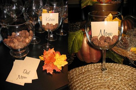 Lots of wine glass centerpiece ideas featured on Momcaster! | The Wedding |  Pinterest | Glass centerpieces, Centerpieces and Wine