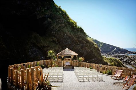 Where we are getting married, Tunnels Beaches in Devon, UK
