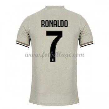 Fotbollstrojor Juventus 2018 19 Cristiano Ronaldo 7 Bortatroja Cristiano Ronaldo Ronaldo Fotbollstrojor