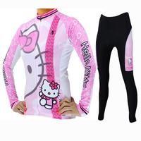 32e971b3f HELLO KITTY Princess Women's Top Cycling Jersey Jacket T-shirt Summer  Spring Autumn Clothes Sportswear Cartoon World White Apparel NO.025 |  Cycling Simple ...