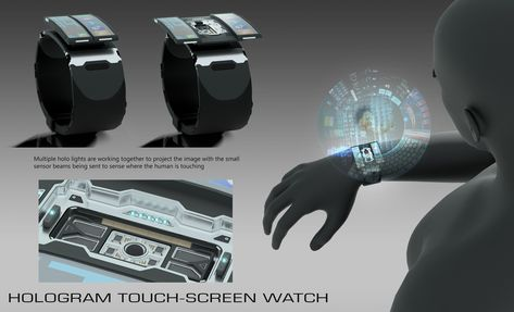 Hologram Wrist Communicator, Joao Felipe De Martini