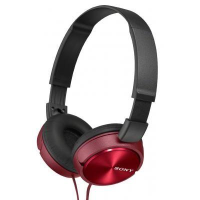 Naushniki Sony Mdr Zx310 Red Mdrzx310rq Ae Wired Headphones Headphones Sony Headphones