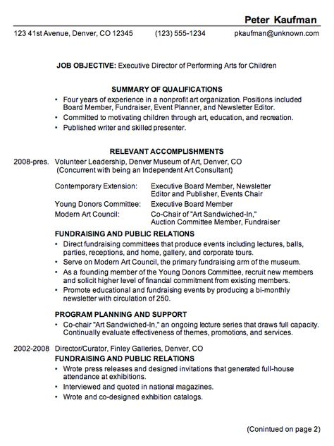 Combination Resume Format Resume Tips Pinterest Resume - professional accomplishments resume