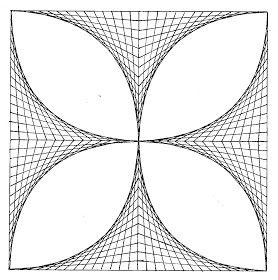El Blog De La Profe Ilusiones Lineales Arte Y Matematicas Dibujos En Cuadricula Clases De Arte Para Ninos
