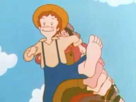 Tom Sawyer, générique : les enfants viennent juste de finir de regarder la série. Ils ont ADORE.