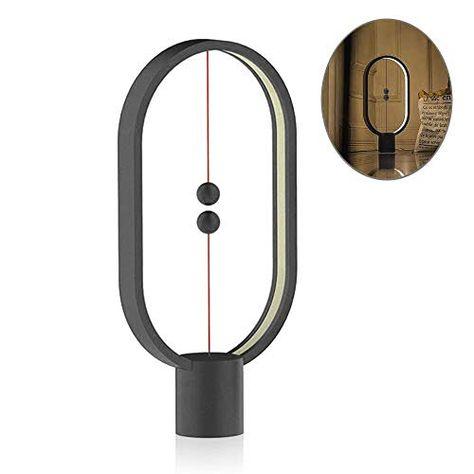 Allocacoc Heng Balance Lamp Ellipse Magnetic Mid Air Sw Https Www Amazon Com Dp B07brjzz4t Ref Cm Sw R Pi Dp U X Vtkbcbq Lamp Best Gifts Led Night Light