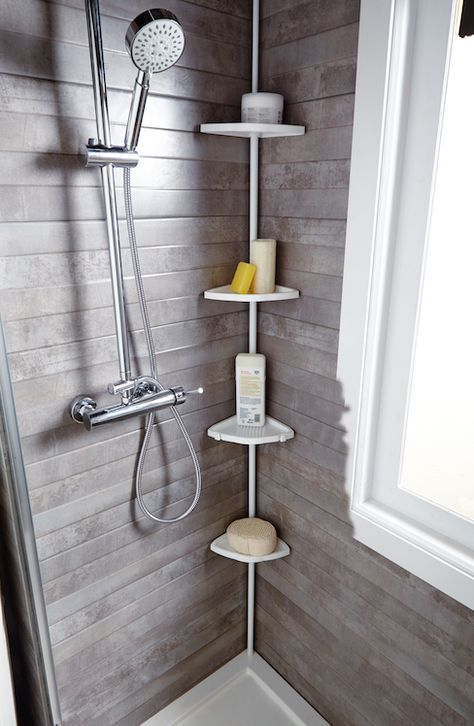 Mantener el cuarto de baño despejado es más fácil si ...