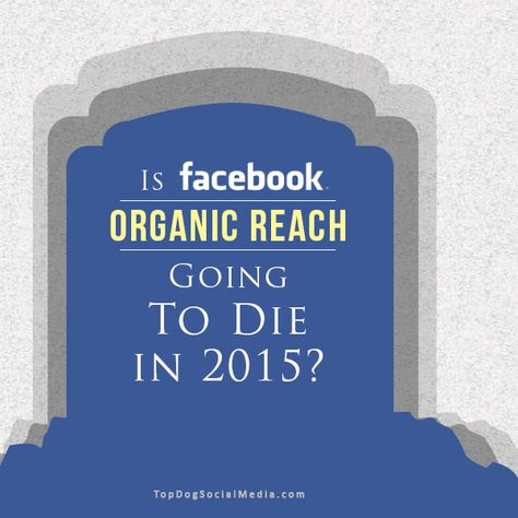 Is Facebook Organic Reach Going To Die In 2015?