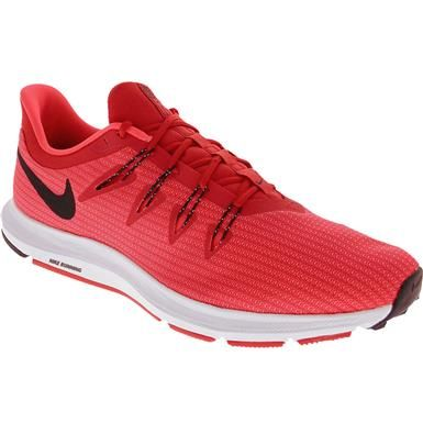 Nike Quest Running Shoes Mens University Red Black White Running Shoes For Men Mens Athletic Shoes Nike