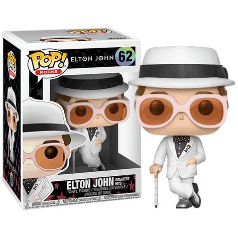 Elton John Funko Pop Vinyl Figur 63 Elton John Red White Blue 9 cm NEU /& OVP