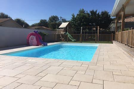 Villa 180m2 avec piscine sur le Bassin du0027Arcachon - Villa Idées