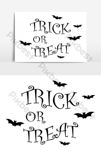Trick Or Treat Halloween Banner Template Background Graphic Element Png Images Ai Free Download Pikbest Halloween Banner Halloween Poster Banner Template