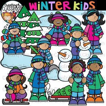Winter Kids Clipart Winter Clipart In 2021 Kids Clipart Winter Clipart Science For Kids