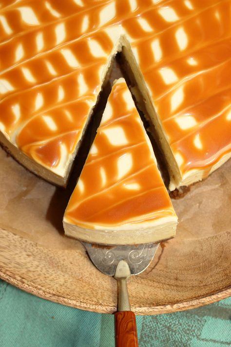 Karamell-Apfel-Cheesecake