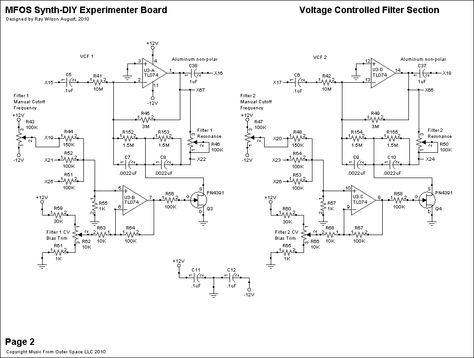 simple vcf schematics from musicfromouterspace com