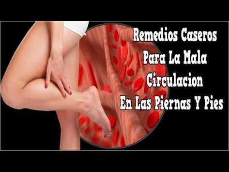 remedios para la circulacion de la sangre en las piernas