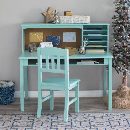 Guidecraft Media Desk Chair Set Teal Hayneedle Desk And Chair Set Bedroom Desk Chair Chair Storage