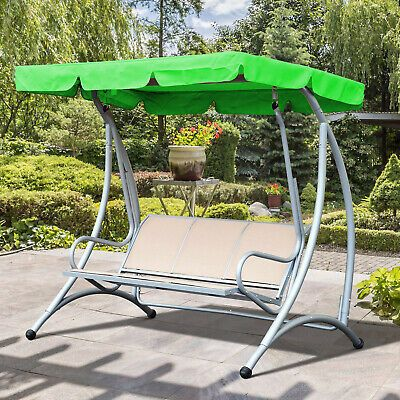 Swing Top Cover Canopy Replacement Porch Patio Outdoor In 2020 Patio Swing Cover Garden Hammock Outdoor Patio Swing